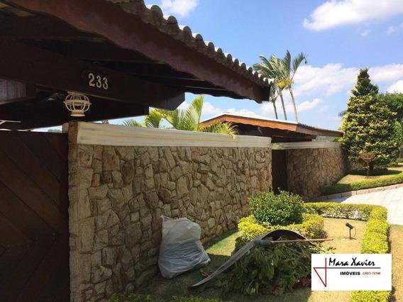 Sobrado Com 5 Dormitórios À Venda, 800 M² - Condomínio Chácaras Do Lago - Vinhedo/sp - So0695