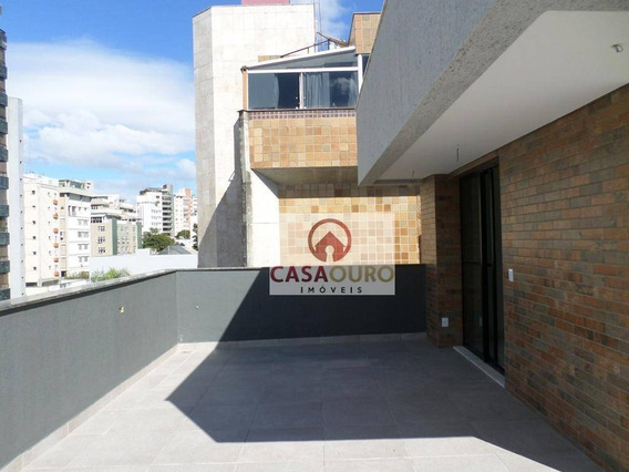 Cobertura Com 3 Quartos À Venda, 170 M² Por R$ 1.350.000 - Serra - Belo Horizonte/mg - Co0221