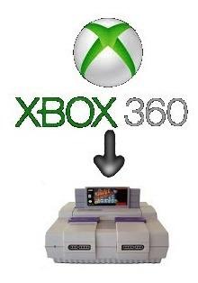 Xbox 360 Emulador Snes + 3300 Jgs Envio No Email