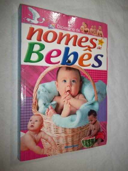 Livro - Dicionário De Nomes De Bebês