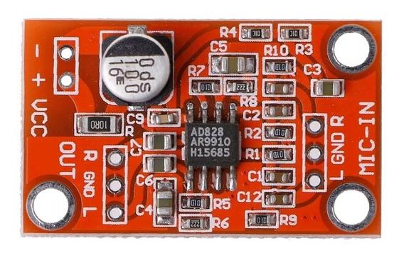 Circuito De Pré Amplificador De Microfone Power Dinâmico