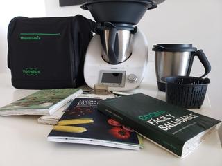 Thermomix Tm5.cook-key Bolso+2 Vasos+garantia Clases Gratis