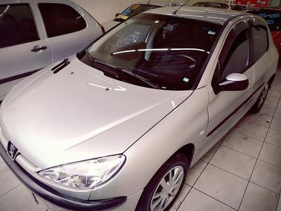 Peugeot 206 Entrada 2000 Financiamento Com Score Baixo