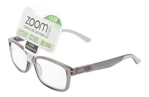 Gafas De Lectura Zoom L-11b1m-a1-gris Resistente Nuevo