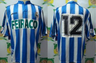Camisa Futebol La Coruña # 12 Jogo Vasco Teresa Herrera 1997