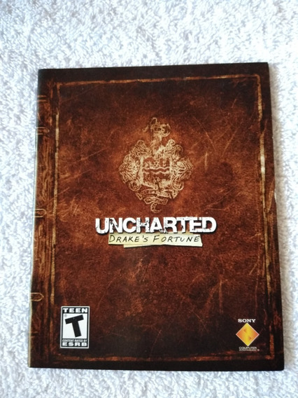Manual Do Game Uncharted Drakes Fortune Ps3 *** Leia