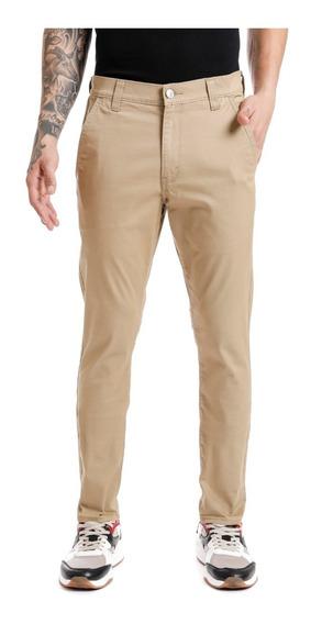 Jeans Denizen® 232 Hombre Beige Slim Chino Suburban Khaki