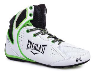 Zapatillas Botas Everlast Strike De Boxeo Cuero Profesionale