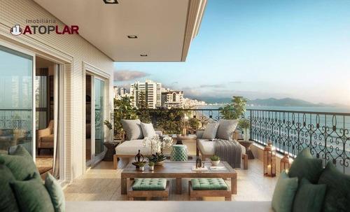 Apartamento À Venda, 154 M² - Meia Praia - Itapema/sc - Ap1338