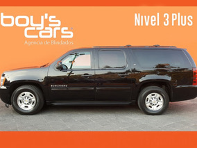 Unidad Blindada Chevrolet Suburban 2012 Blindado Nivel 3plus
