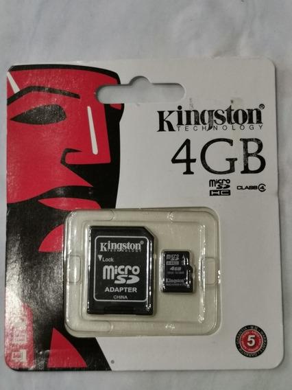 Cartão Memória 4gb Kingston