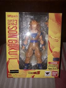 Goku Ssj 3 - S.h. Figuarts - Bandai - Versão 1.0 (original)