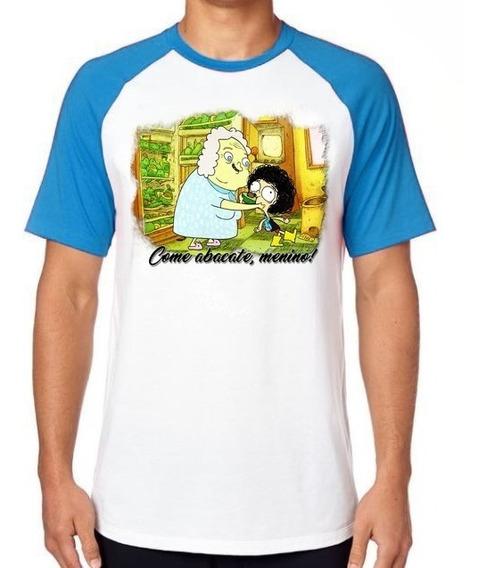 Camiseta Luxo Irmão Do Jorel Vovó Juju Abacate Desenho