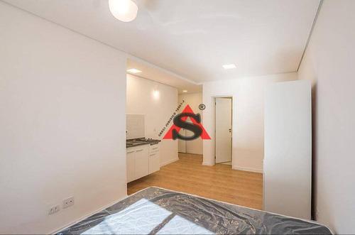 Imagem 1 de 30 de Lindo Apartamento Estilo Kitnet, Mobiliado Para Locação, Pronto Para Morar- Aclimação-sp, - Sp - Kn0038_sales