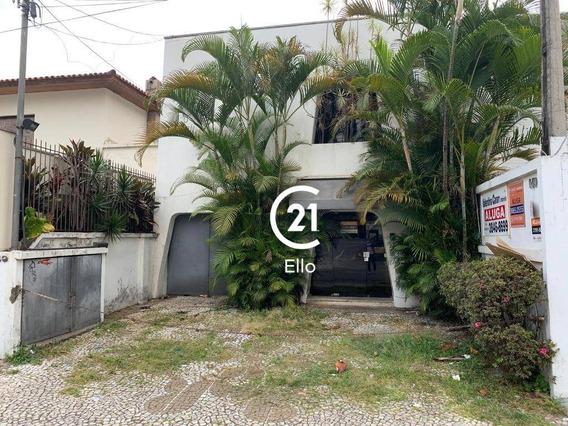 Casa Para Alugar, 200 M² Por R$ 8.000,00/mês - Jardim América - São Paulo/sp - Ca1126