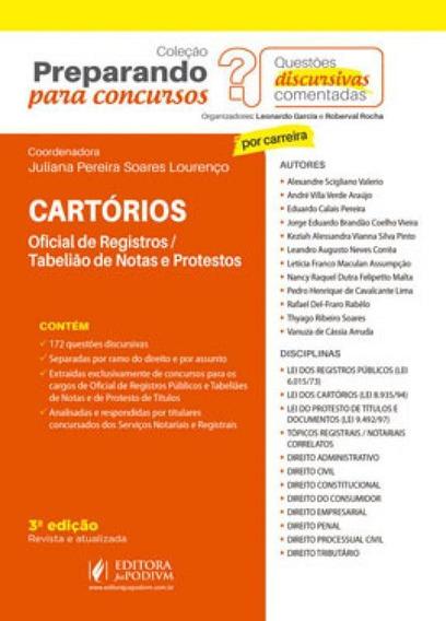 Cartórios - Oficial De Registros E Tabelião De Notas E De