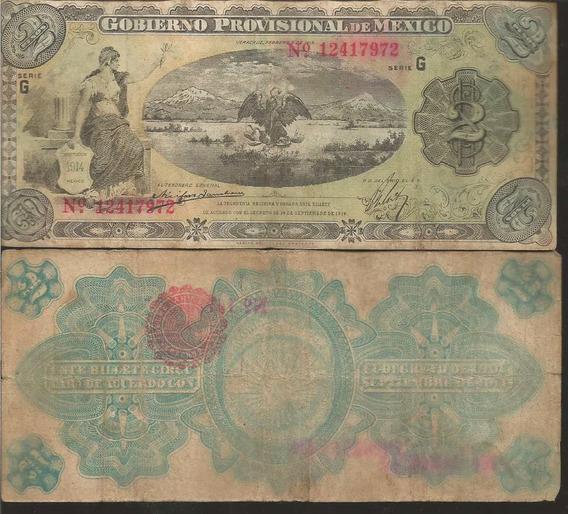 Mi-ver-27 Billete De Veracruz De 2 Pesos