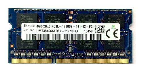 Imagen 1 de 2 de Memoria Ram Ddr3 4gb Laptop Pc3l-12800 1600mhz