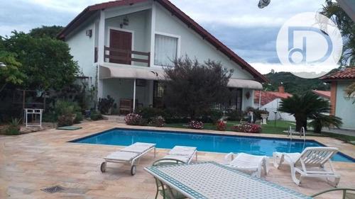 Casa Com 5 Dormitórios À Venda, 450 M² Por R$ 2.200.000,00 - Condomínio São Joaquim - Vinhedo/sp - Ca3746