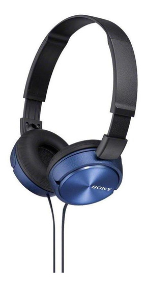 Fone De Ouvido Sony Headphone Microfone Mdr-zx310ap Azul