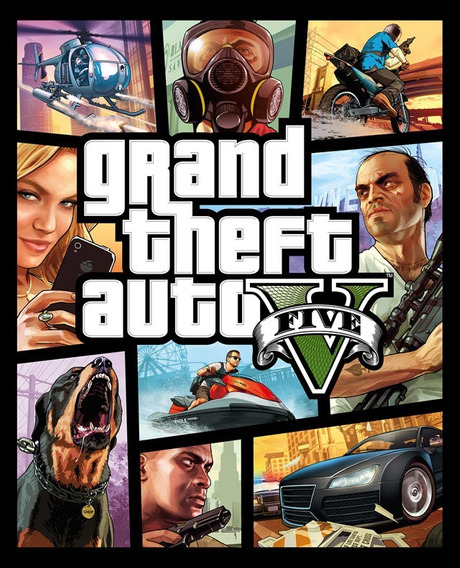 Grand Theft Auto V Rockstar Games - Pc Cd Key Origiinal
