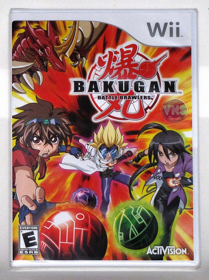 Bakugan Battle Brawlers - Nintendo Wii - Novo - Lacrado