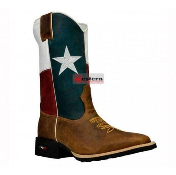 Bota Unissex Western Cano Texas Mr West