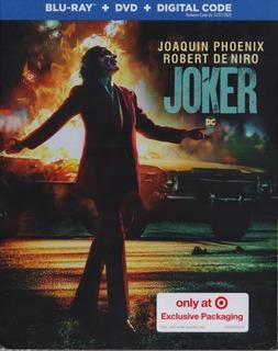 Joker Guason 2019 Target Pelicula Blu-ray + Dvd