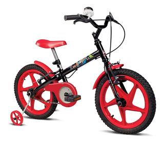Bicicleta Infantil Verden Aro16 Menino Rock De 5 A 8 Anos