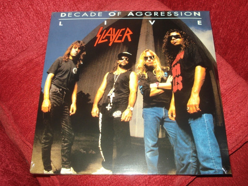 Vinilo Slayer  / Decade Of Aggression (nuevo Sellad) Usa 2lp