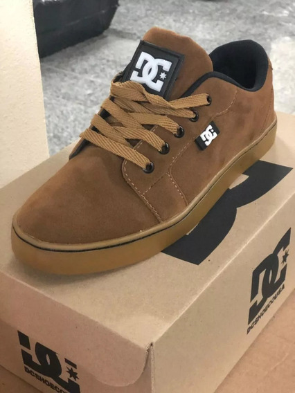 Tênis Masculino Dc Shoes Black Gum L.a. Crisis - 70% Off !!!