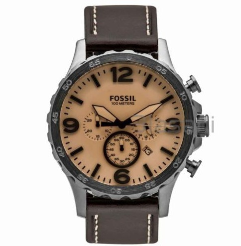 977e72c3ea13 Reloj Fossil Original Cuero Marrón Cronógrafo Jr1512 Hombre -   380.000 en  Mercado Libre