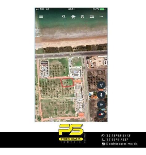 Terreno À Venda, 600 M² Por R$ 750.000 - Ponta De Campina - Cabedelo/pb - Te0248