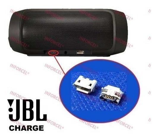 Kit 5x Conector Carga Micro Usb Charge Original