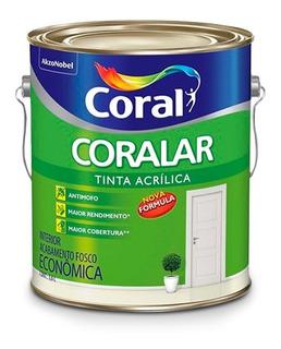 Tinta Acrilica Fosca Para Interior Coral - Rosa Açaí 3,6 Lts