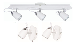 Lámparas Aplique + 2 Veladores Led Modernos Para Dormitorio