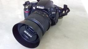 Câmera Dsrl Nikon D3100 Com Lente 18-55 Seminova + Acessório