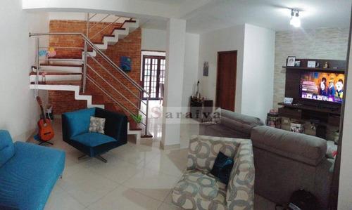 Imagem 1 de 18 de Sobrado Com 3 Dormitórios À Venda, 180 M² Por R$ 660.000,00 - Alves Dias - São Bernardo Do Campo/sp - So1060