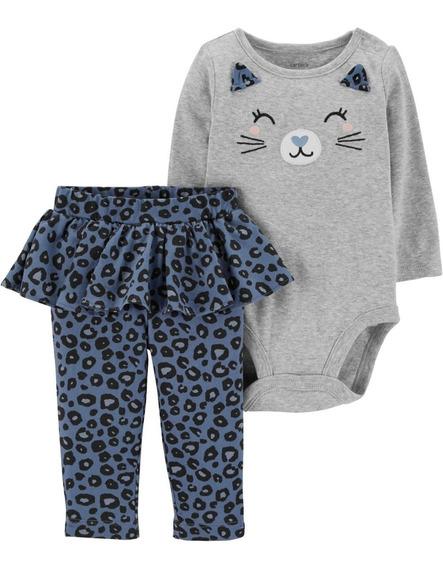 Carters Set 2 Piezas Body Y Pantalón Con Tutú Bebé Nenas