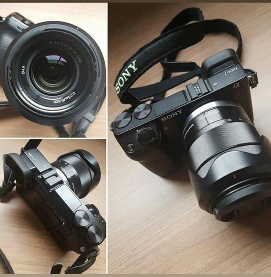 Câmera Sony Nex-7 Mirrorless Completa