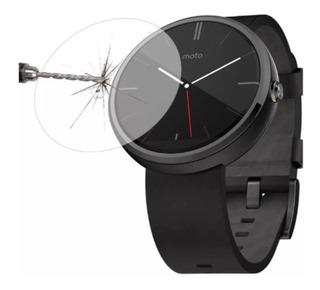 Película Protetora De Vidro Temperado Smart Watch Moto 360