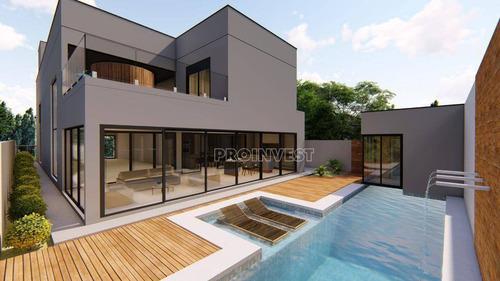 Casa Com 4 Dormitórios À Venda, 440 M² Por R$ 3.500.000,00 - Granja Viana - Cotia/sp - Ca18437