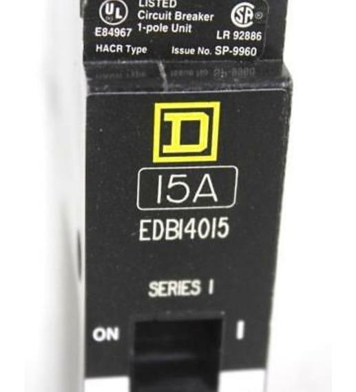 Interruptor Termomagnetico Edb14015 Square D