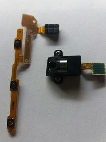 Flex Dos Botões E P2 Fone T 210 Tablet Samsung Original