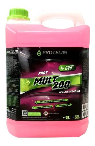 Imagem 1 de 1 de Prot Mult 200 Multiuso Concentrado 5l Protelim
