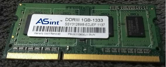 Memoria Ddr3 Asint 1gb 1333 Mhz