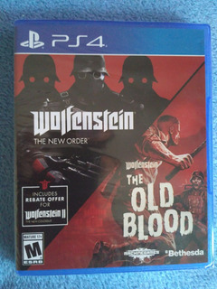 Wolfenstein The Two Pack Ps4, Nuevo Sellado