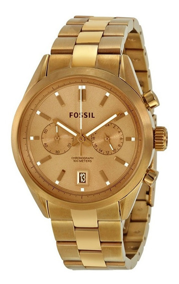 Relógio Feminino Fossil Del Rey Ch2993/4dn - Aço Inox Rosê
