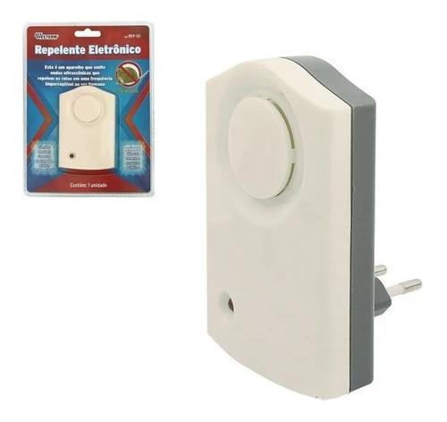 Repelente Eletrônico Para Ratos Bivolt Western - Rep02