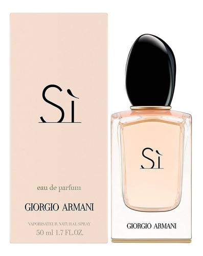 Perfume Si Edp 50ml Giorgio Armani Original